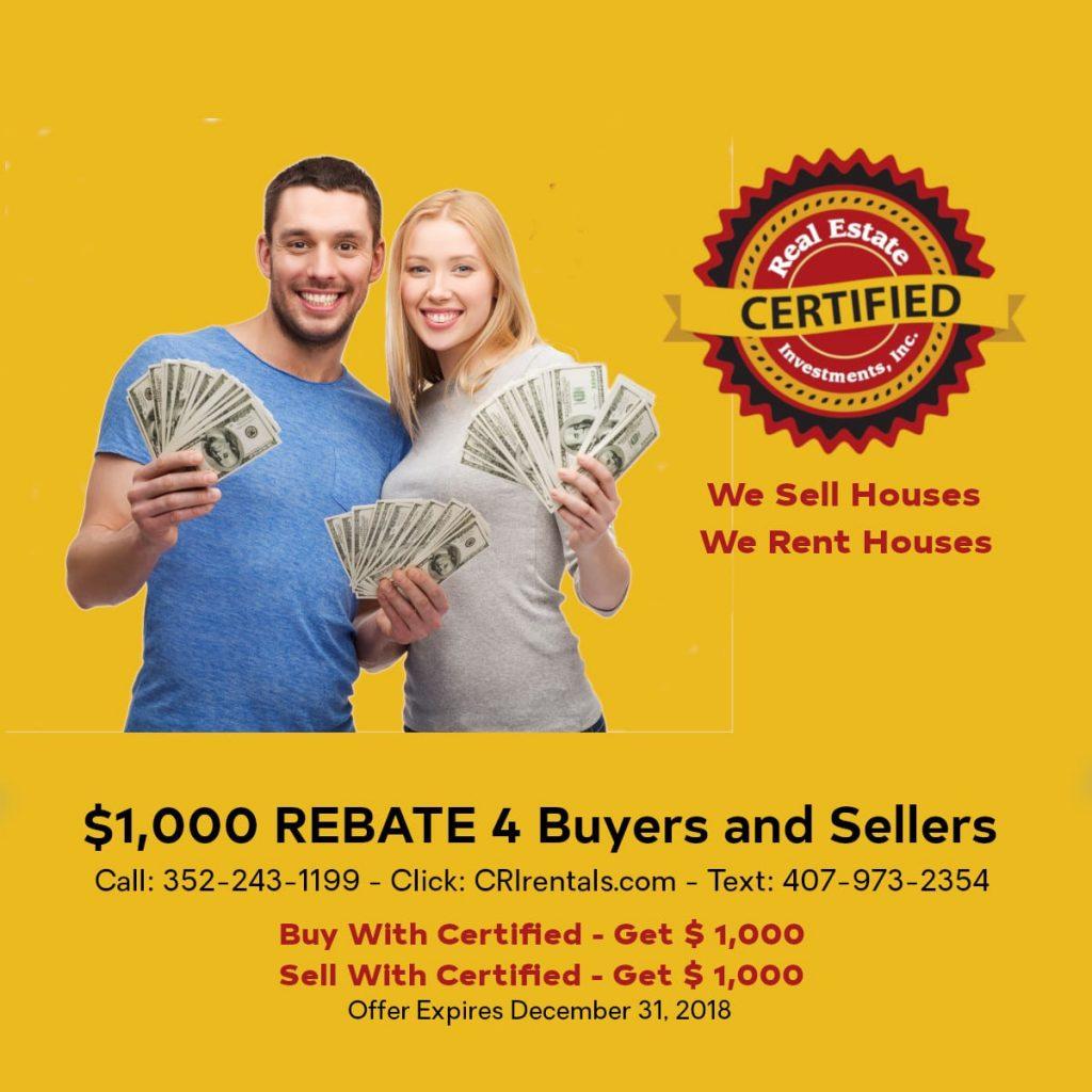 CRI Rebate Promotion