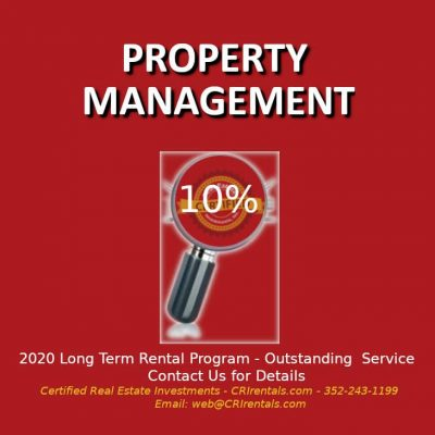 Certified Real Estate Investments 2020 management program